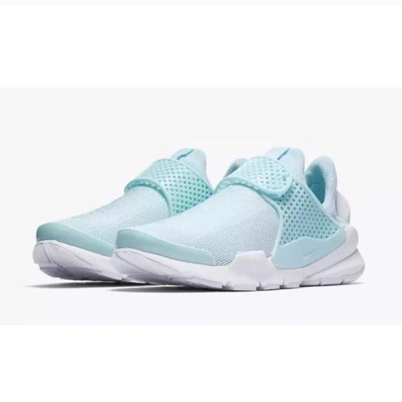 sale retailer feebc b29ce Nike Sock Dart Women's Glacier Blue Sneakers